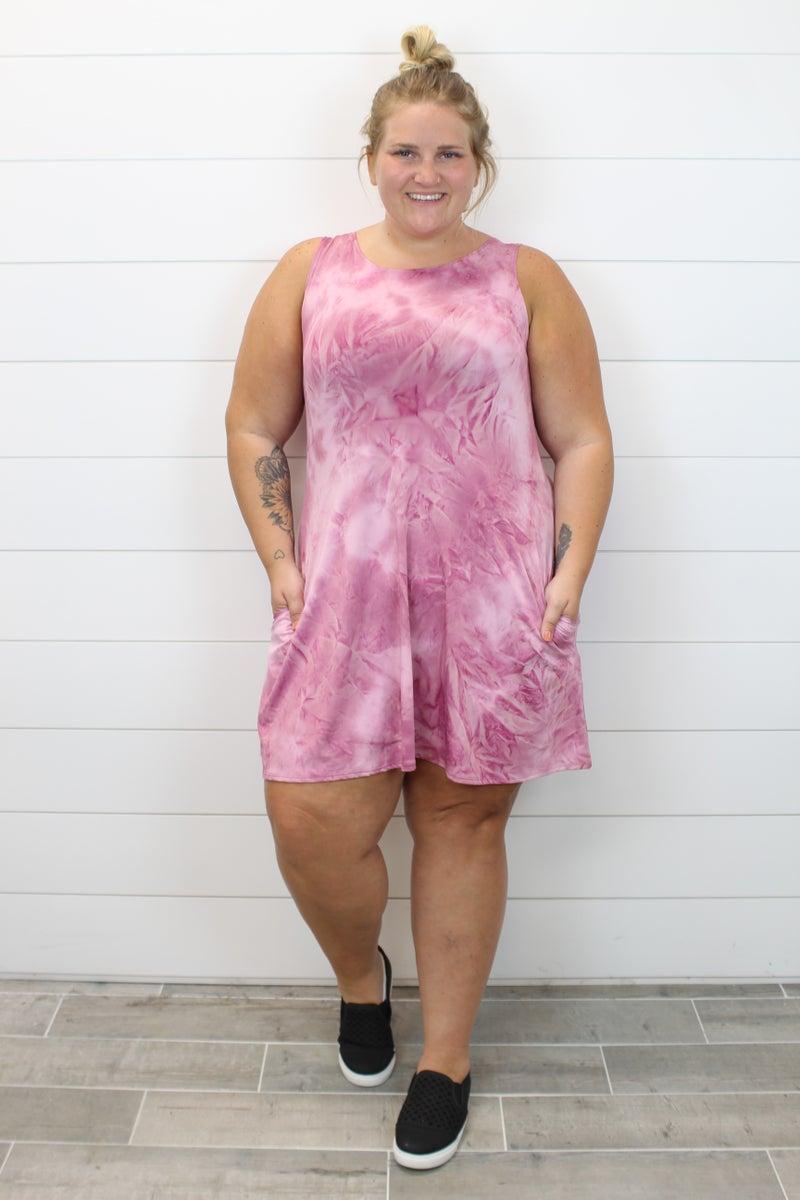 Marvelous In Mauve Dress