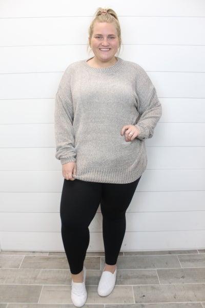 Feelin' Good Chenille Sweater
