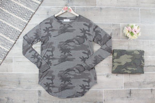 Military Wives  Long Sleeve Top