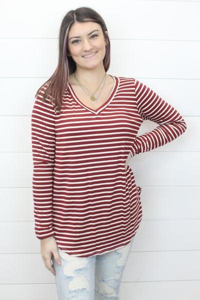 Simply Stripes Top