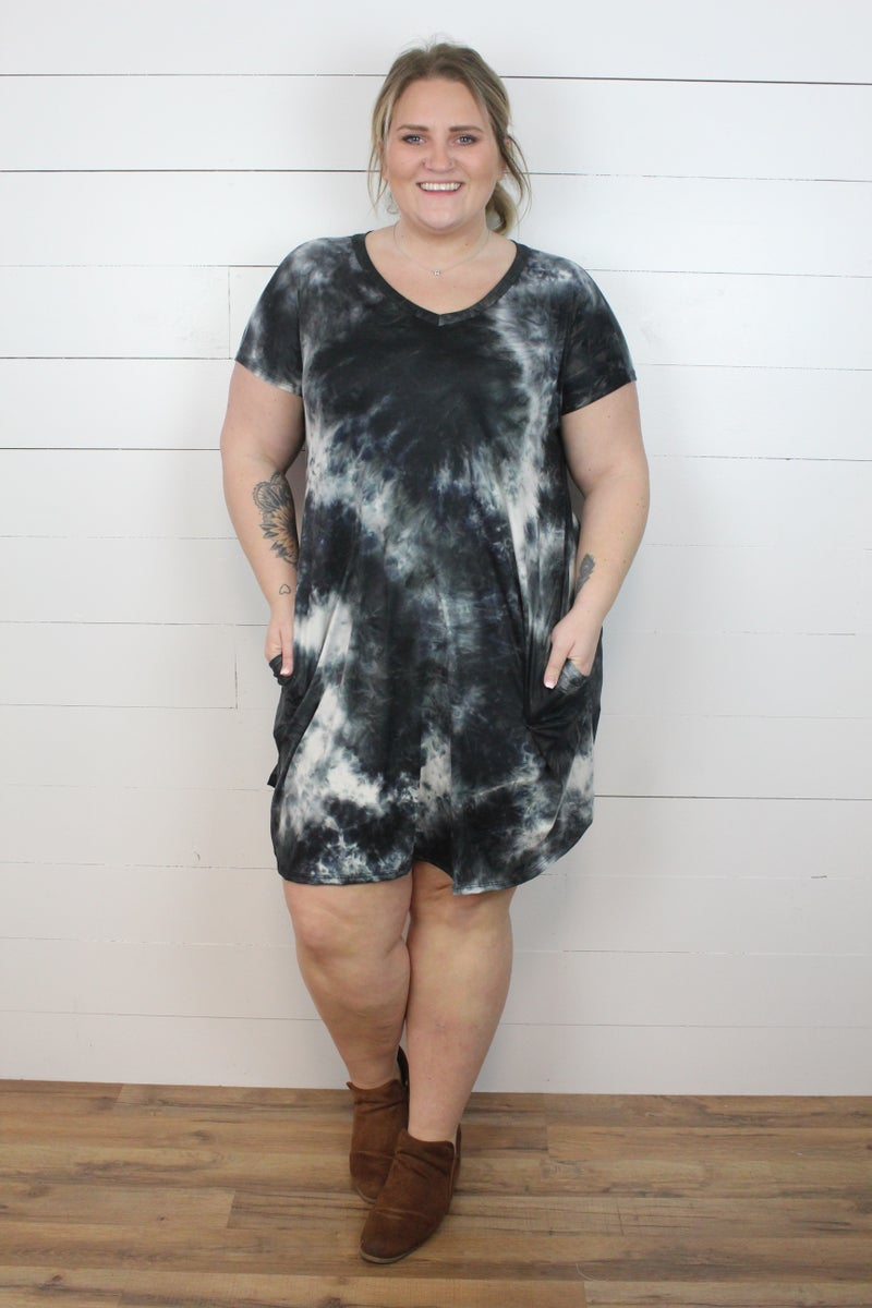 Simple Tie Dye Dress