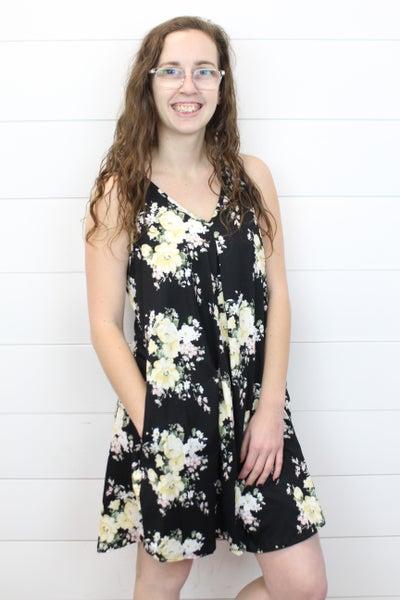 Perfect Floral Flowy Dress