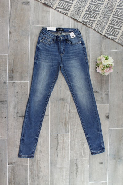 Must Have Judy Blue Pin-tacked Skinny Jean