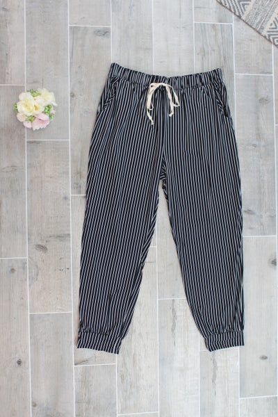 Striped Joggers Pants