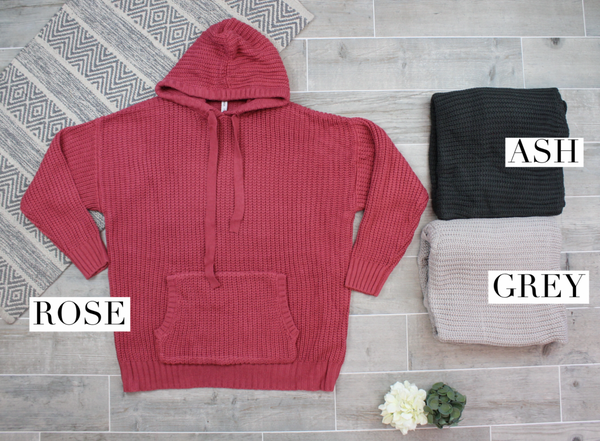 The Coziest Hoodie Sweater