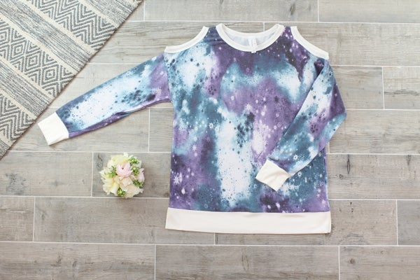 Edge Of The Galaxy Off The Shoulder Top