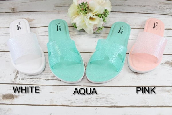 Get Up And Go Slide Sandals