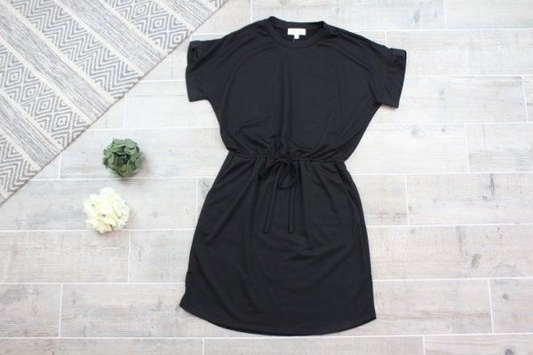 Knot Your Average Black Dress