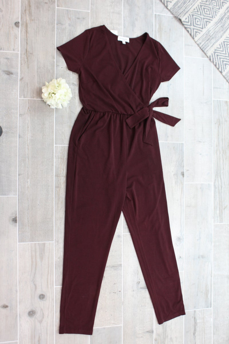 Tie On The Side Of This Jumpsuit