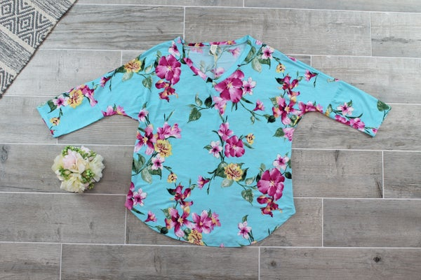 Flowers Are Everywhere Top