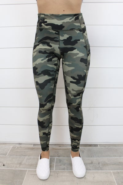 Full Length Camo Yoga Leggings