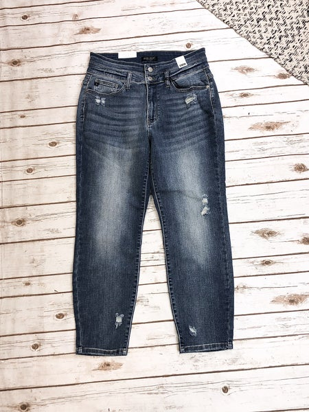 Double Button Judy Blue Jeans