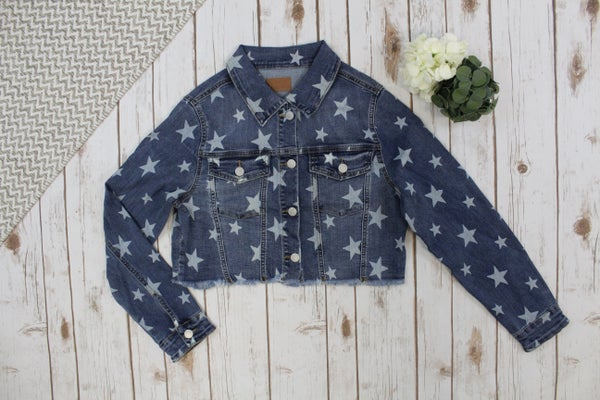 Super Star Judy Blue Jean Jacket