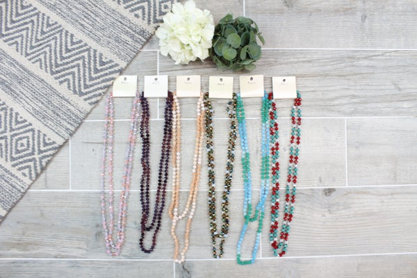 Layering Bead Necklace