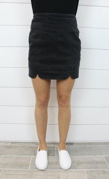 Tulip Hem Skirt