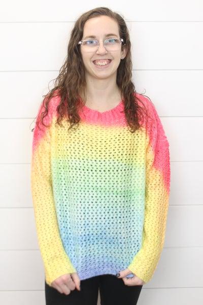 Beautiful Rainbow Sweater