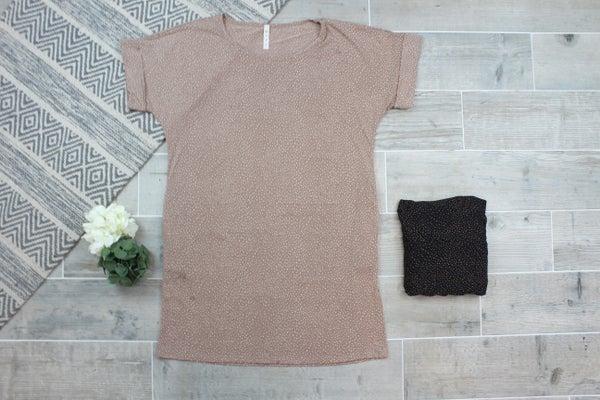 Splash Dot Shift Dress
