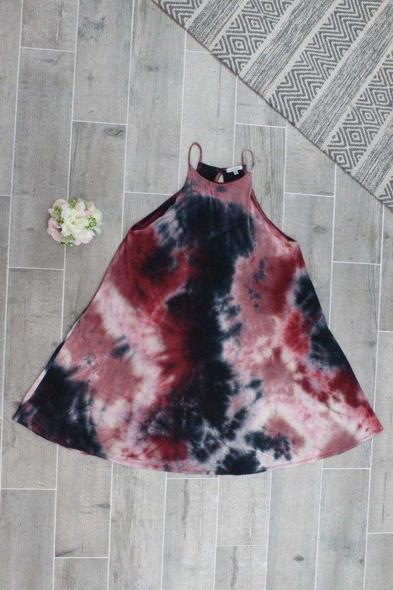 Beautiful In Burgundy Dress