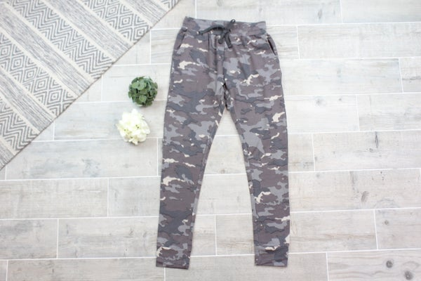 Earth Camo Sweatpants