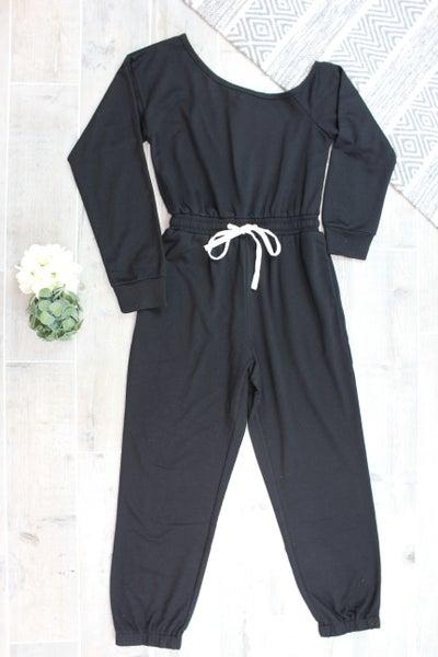 Your Not So Basic Black Jumpsuit