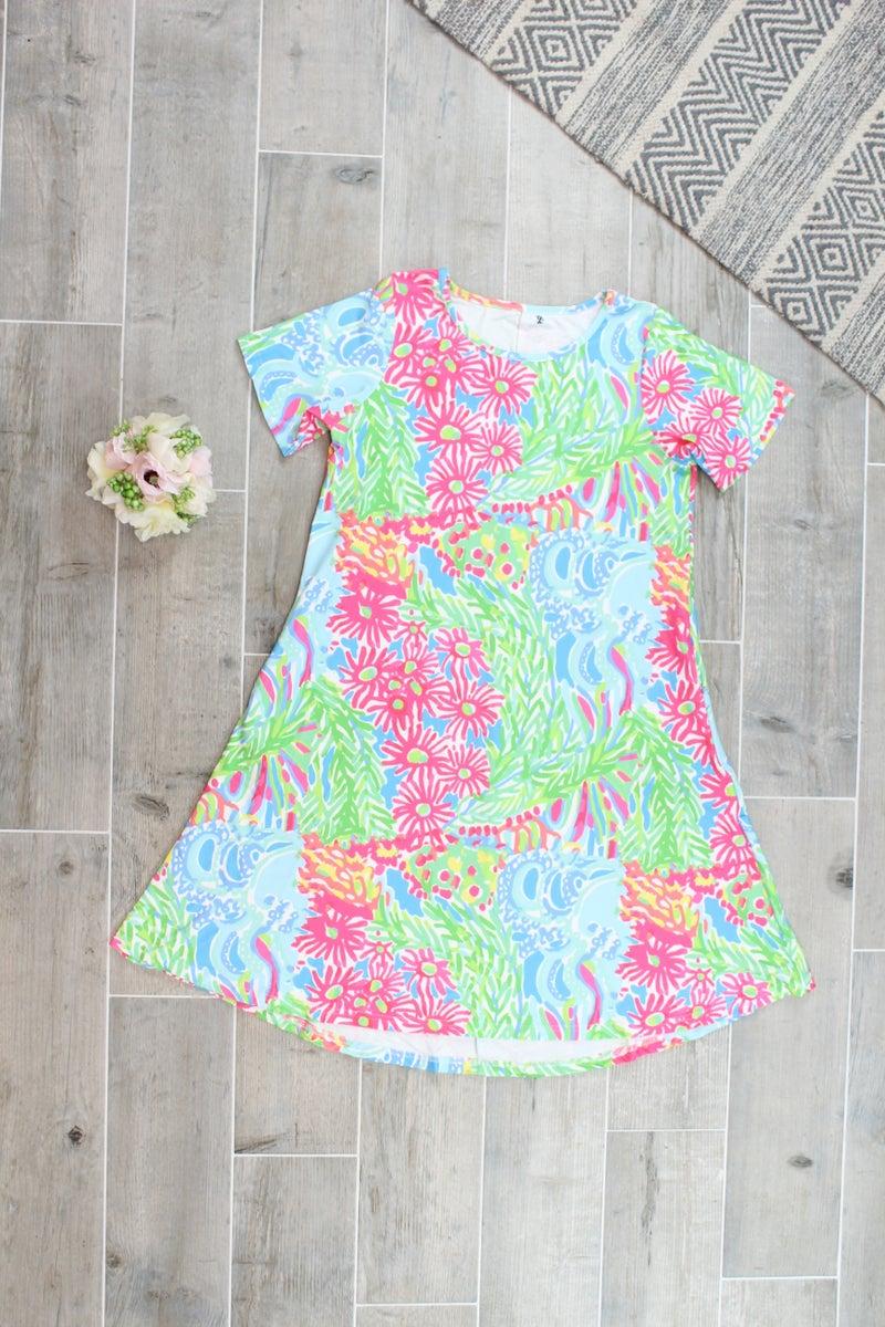 Full Of Color Charlie Dress