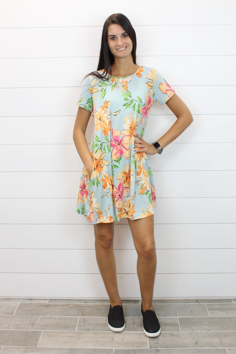 Love for Floral Dress