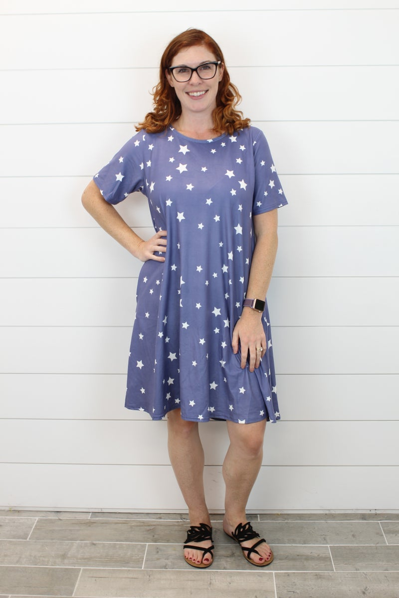 Patriotic Charlie Dress