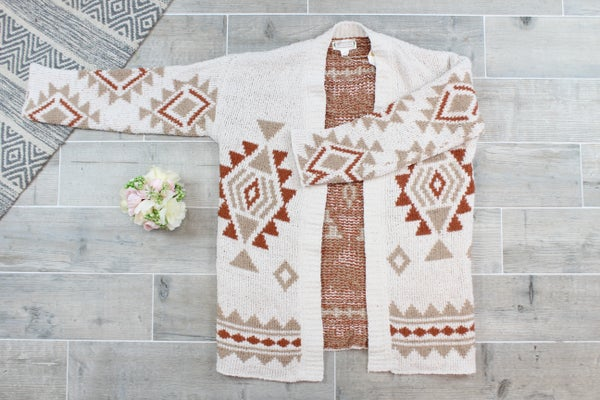 For The Love Of Fall Cardi