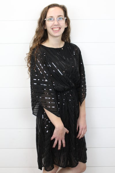 The Perfect Black Holiday Dress