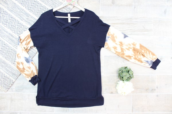 Spicy Star Sleeve Top