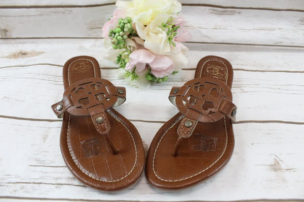 Brown Croc Sandals