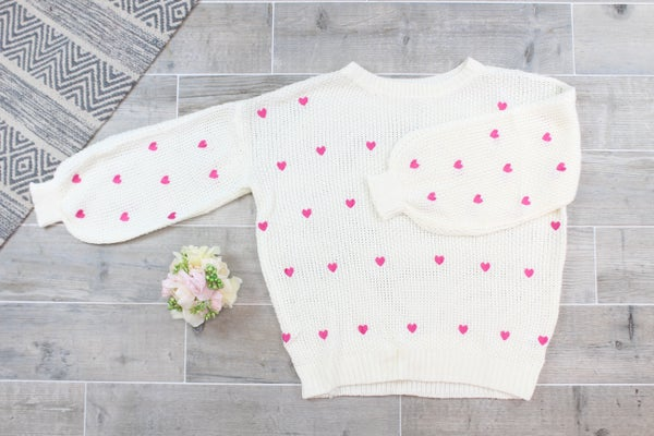 For The Love Of Love Sweater