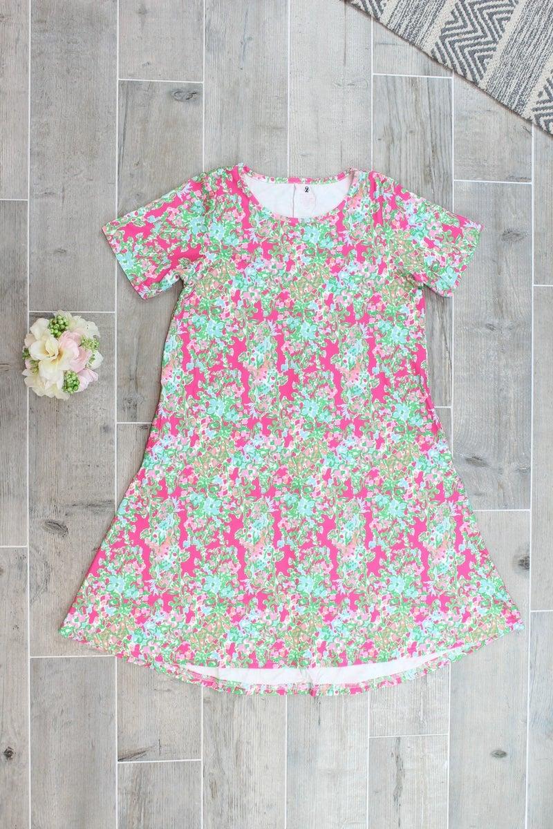 Time For Floral Charlie Dress