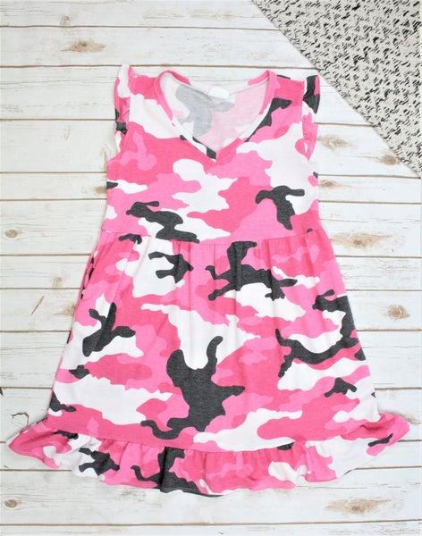 Fancy Camo Dress