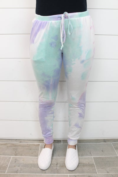 Tie Dying To Jog Joggers