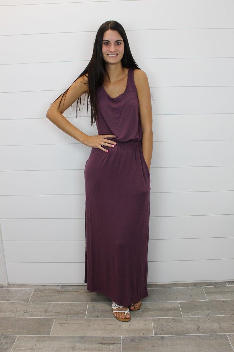 Bubble Top Maxi Dress