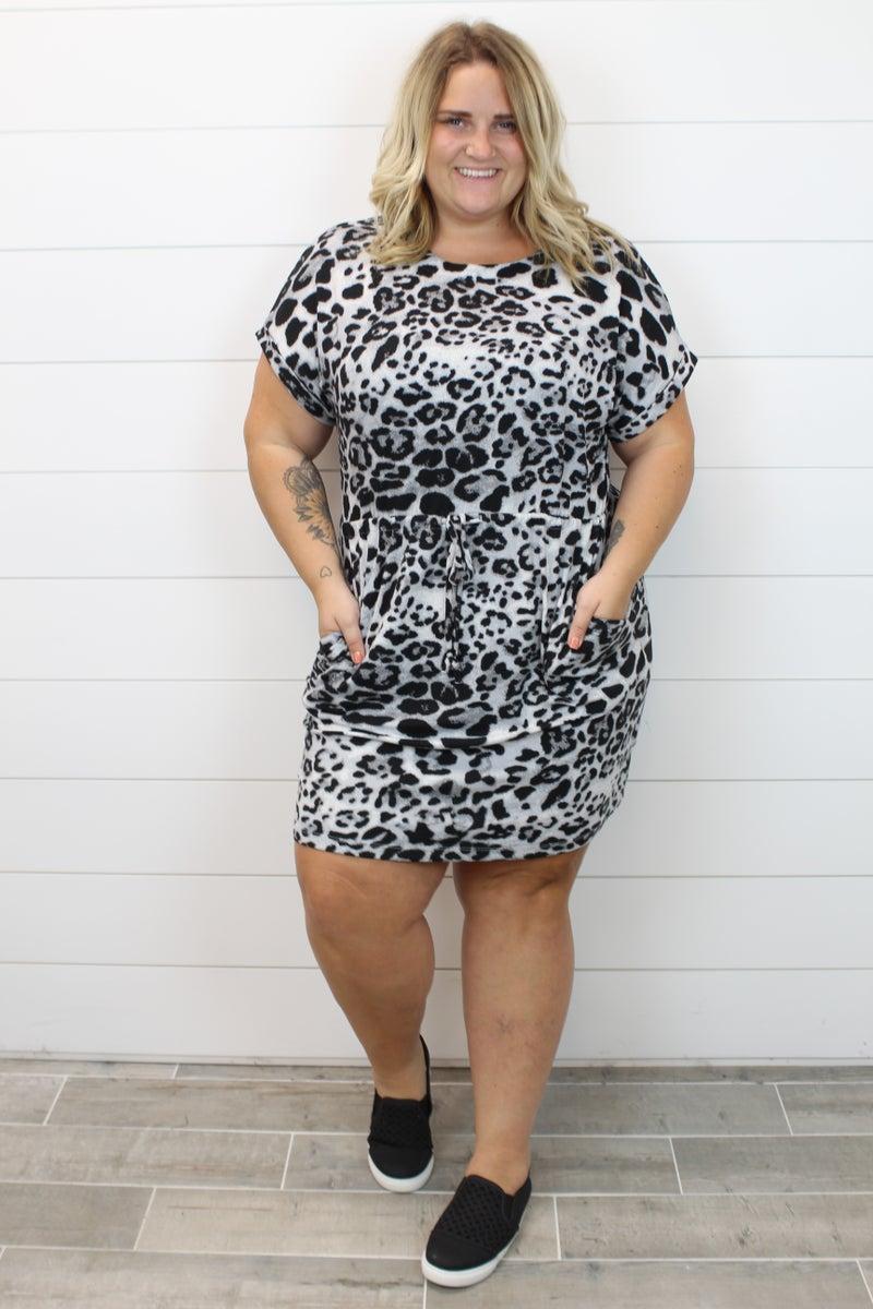 Adorable Cheetah Print Dress