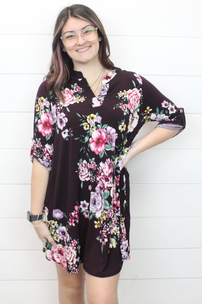 Fun In Florals Dress