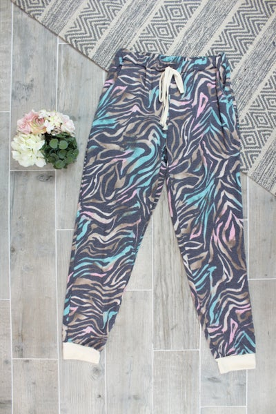 Zebra Of All Colors Pants
