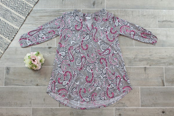 Pretty In Pink Paisley Gabby!