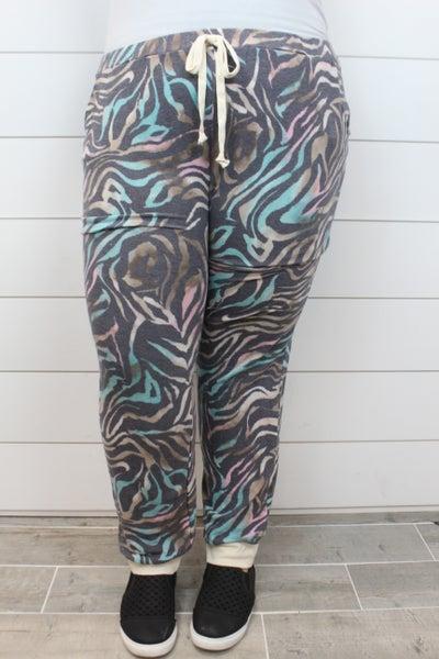 Loving My Zebra Pants