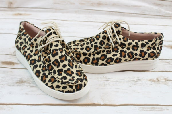 Take A Walk On The Wild Side Slip Ons