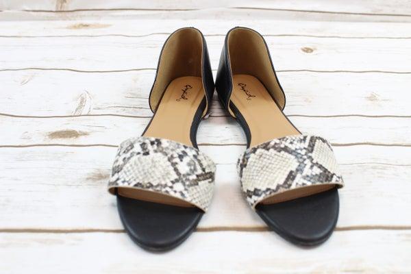 Slippery Snake Sandals