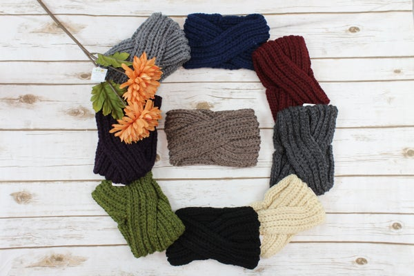 Thick Banded Ear Warmers