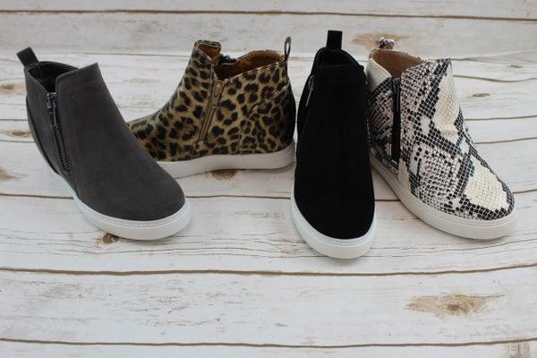 Sassy Wedged Sneaker