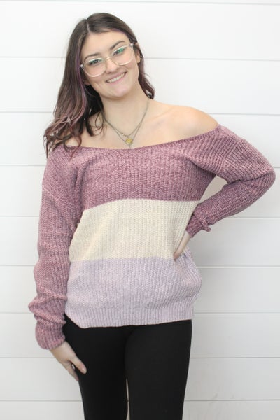 Sassy V Neck Sweater