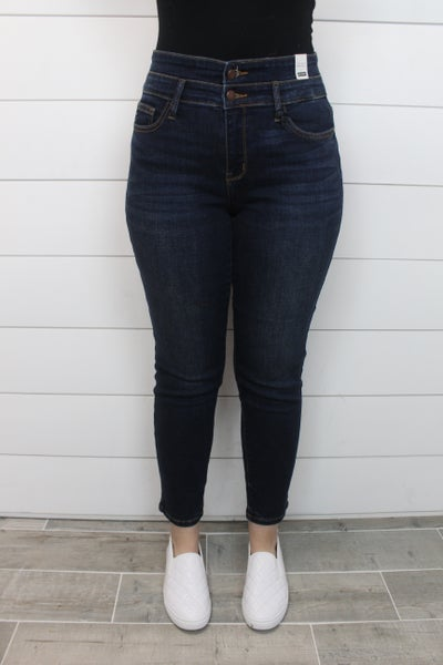 Double Waistband Judy Blue Jeans