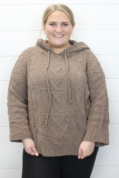 POL All Cozied Up Hoodie Sweater