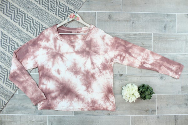 Obsessed With Tie Dye POL Top
