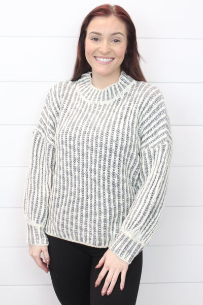 Lovely In Stripes POL Sweater